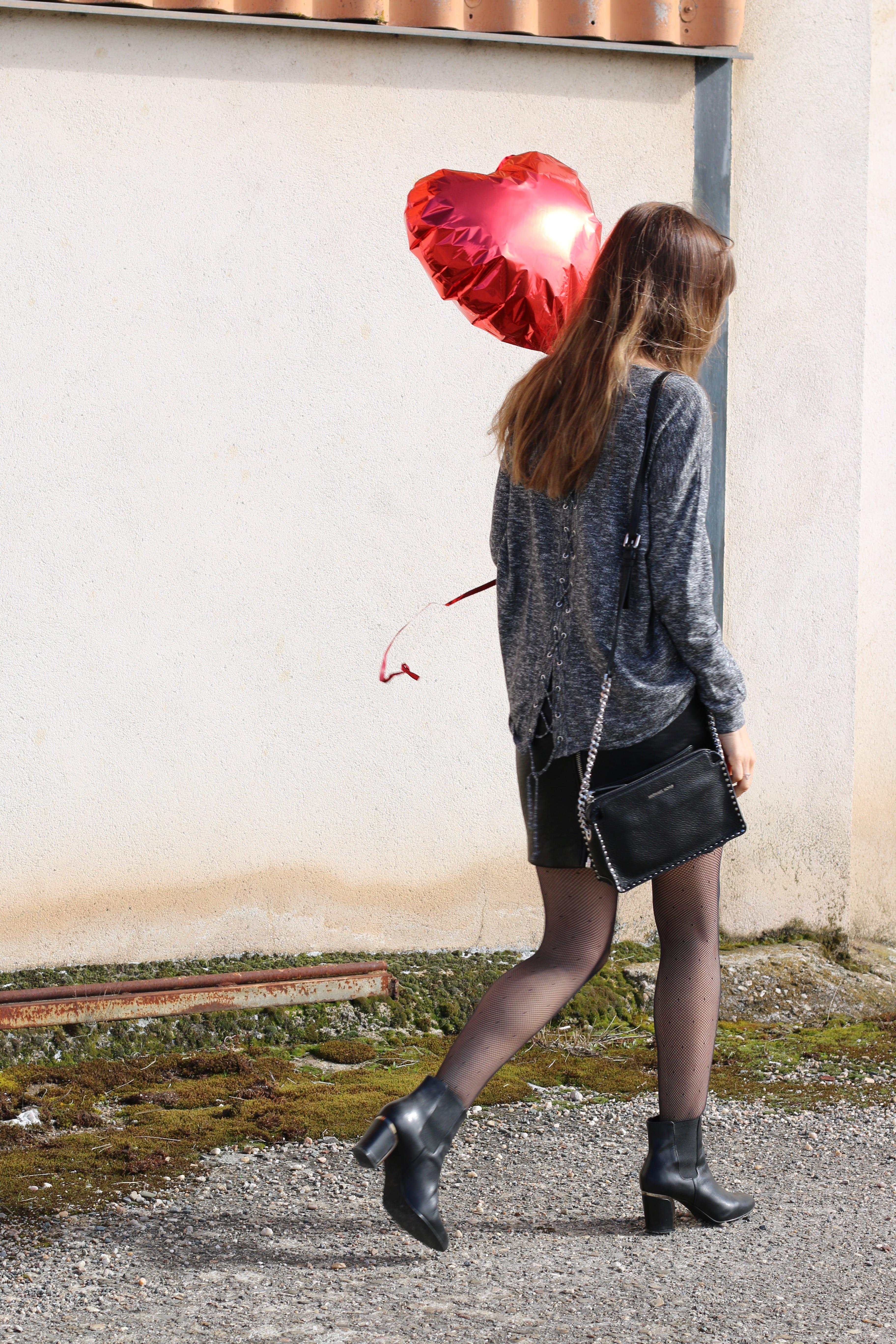 look saint Valentin, ballon mieux que des fleurs