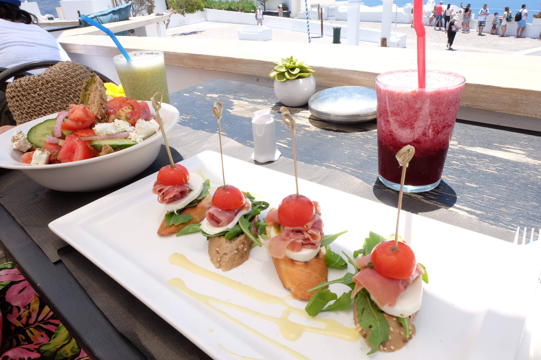 Restaurant Passaggio Oia-Food