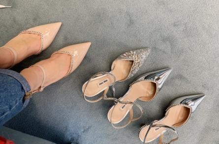 paire de chaussures de mariage