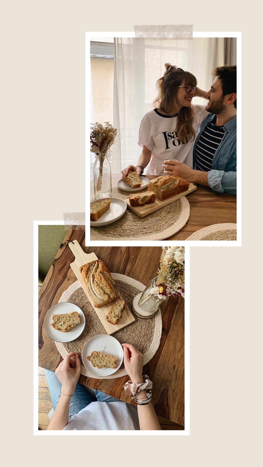recette healthy banana bread sain facile