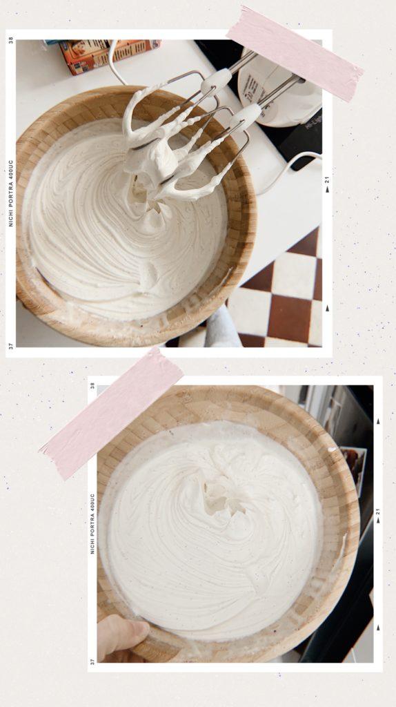 naked cake vanille ganache