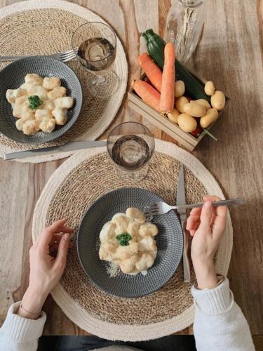 recette de gnocchis à la crème de parmesan
