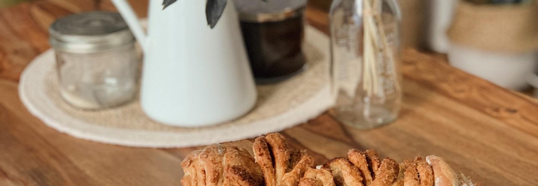 brioche à effeuiller pull appart bread