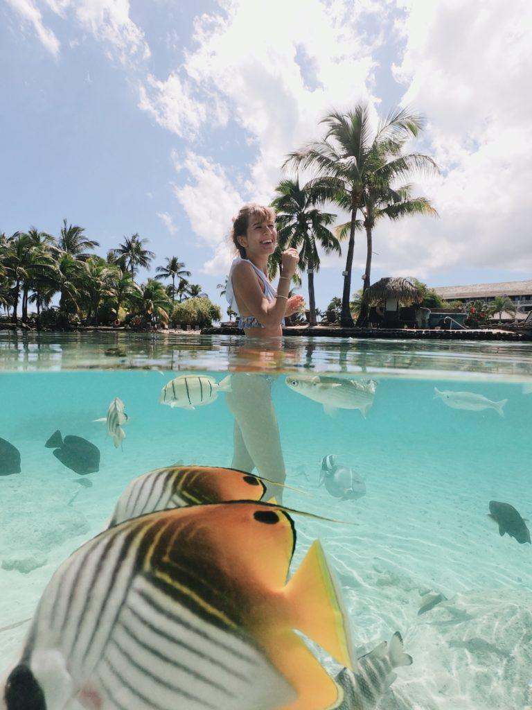 Bora-Bora vacances, dome lune de miel , GoPro, faire sa valise pour Bora Bora