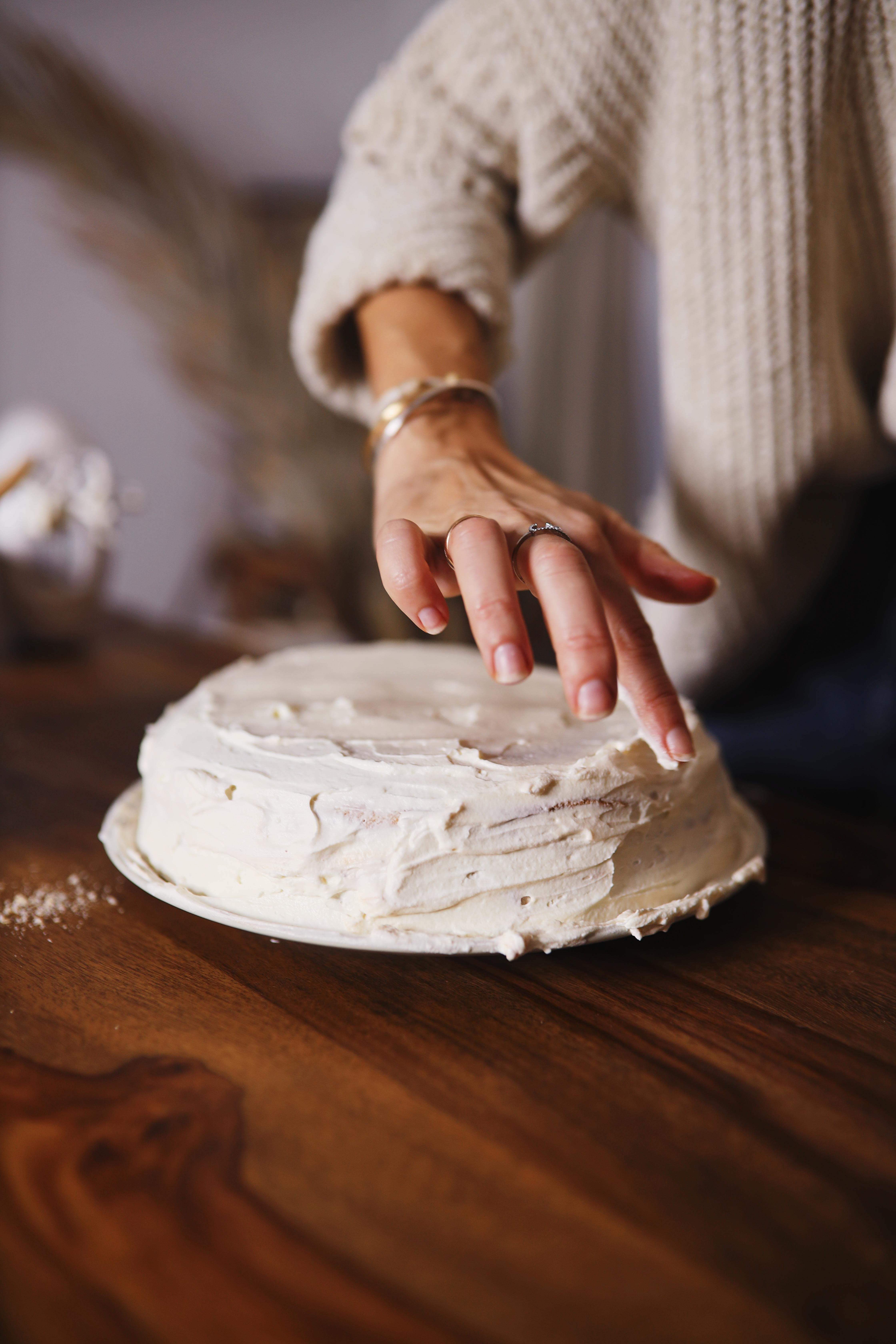 gâteau de crêpes chocolat chantilly vanille