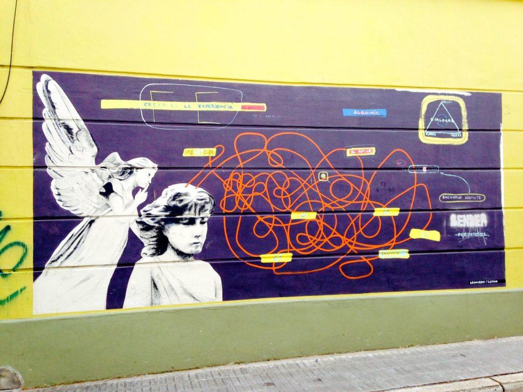graffiti présents dans le quartier de Palermo Soho, Street Art Buenos Aires 8