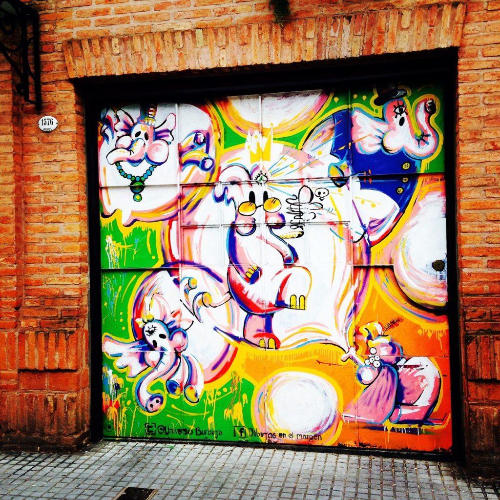 graffiti présents dans le quartier de Palermo Soho, Street Art Buenos Aires 10