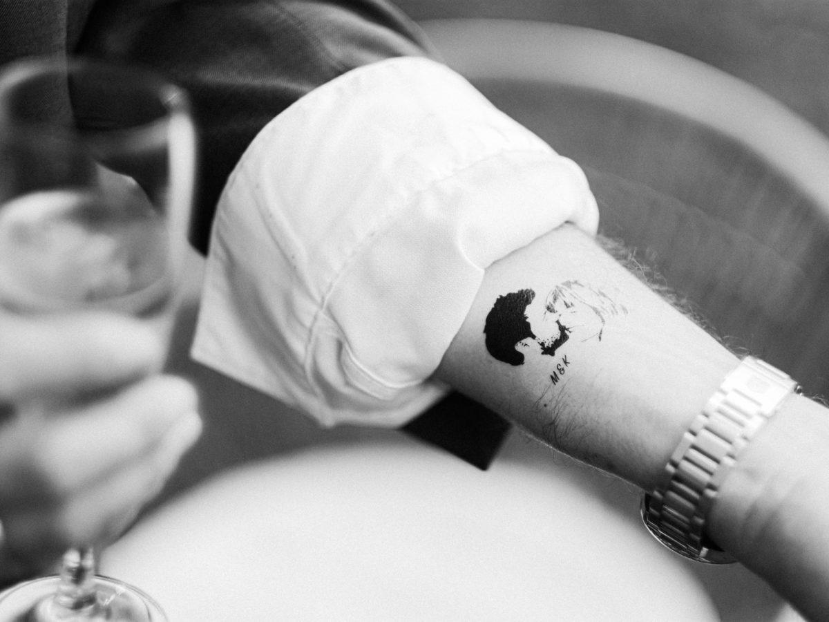 tatouage personnalisés cadeaux invités mariage