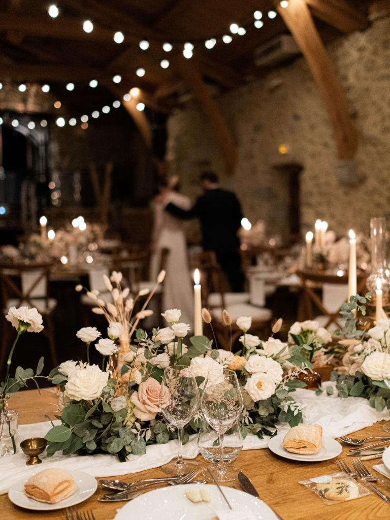 table d'honneur mariage, décoration mariage