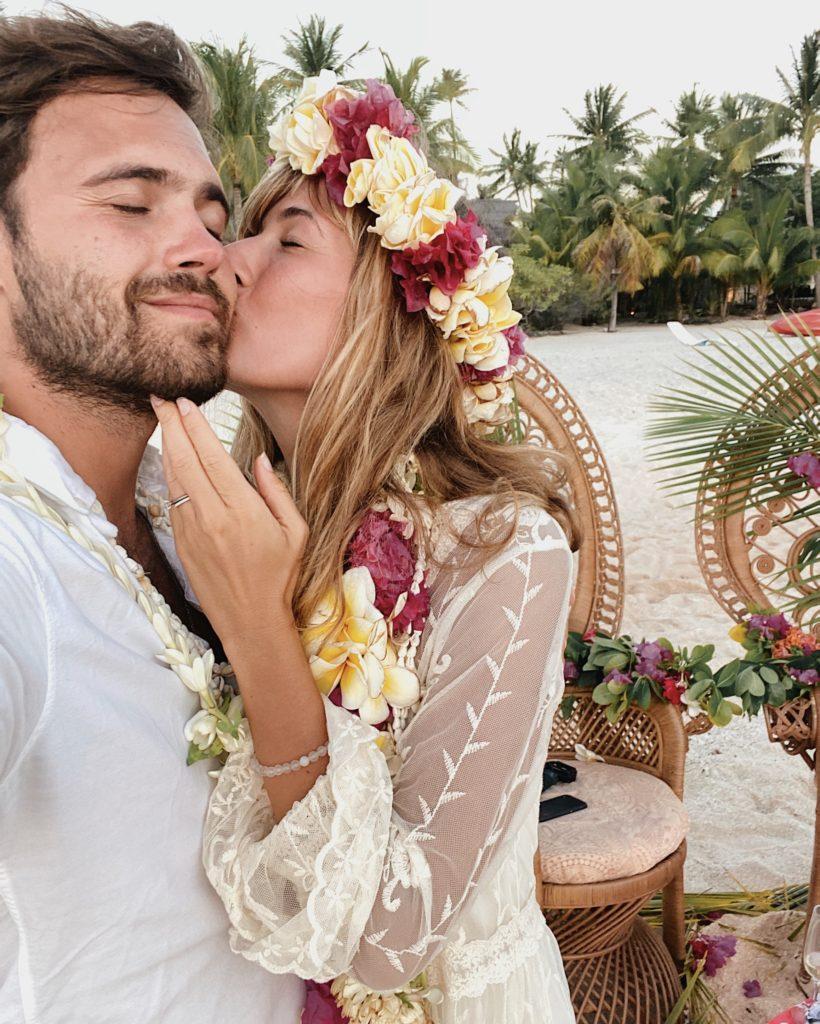 lune de miel en Polynésie Française Tikehau renouvellement de voeux.