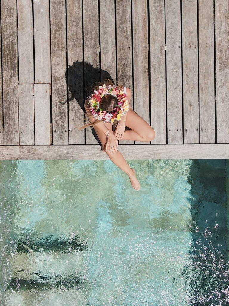 lune de miel en Polynésie Française Moorea piscine privée