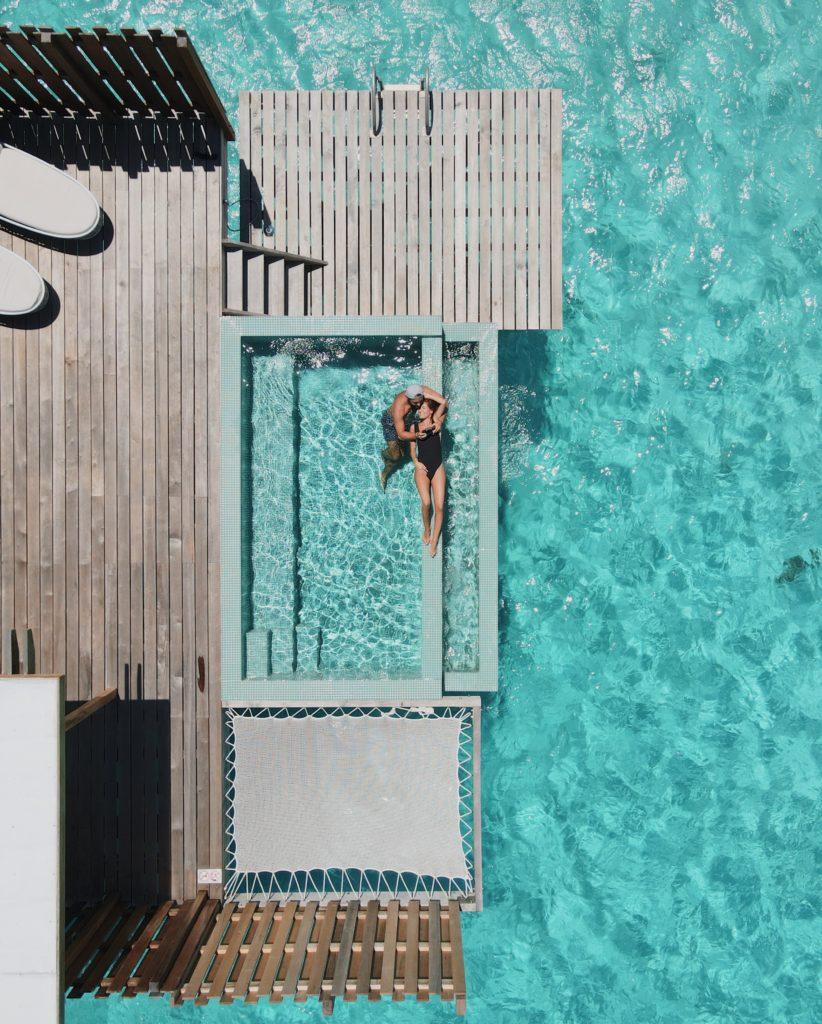 lune de miel en Polynésie Française Bora Bora Conrad pilotis