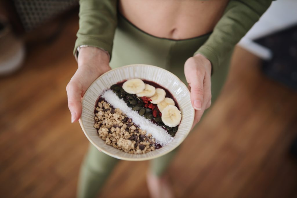 acai bowl maison healthy et topping gourmand