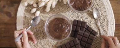 mousse au chocolat healthy et facile