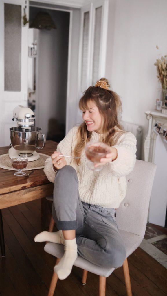 mousse au chocolat maison healthy et gourmande